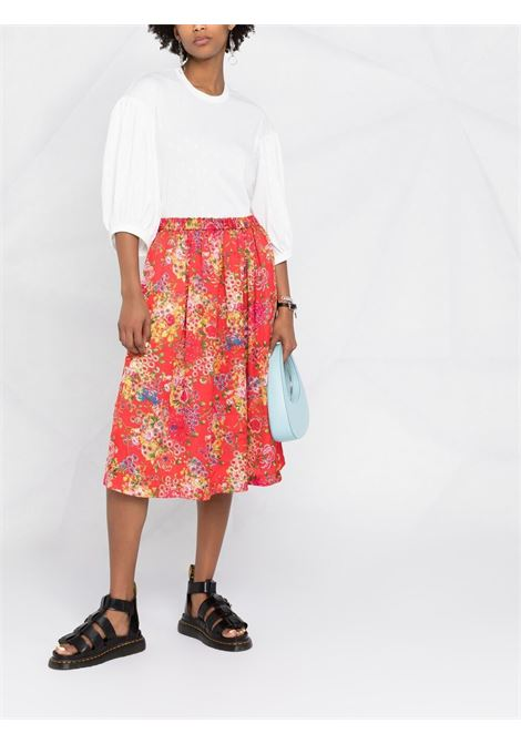 Comme des garcons puff-sleeves blouse women off white COMME DES GARCONS | RGT0120512