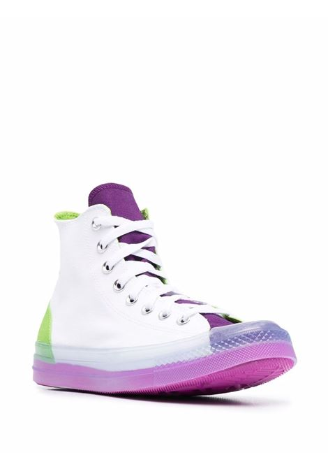 White,purple and green dramatic nights cx high-top sneakers - unisex CONVERSE | 170833C134