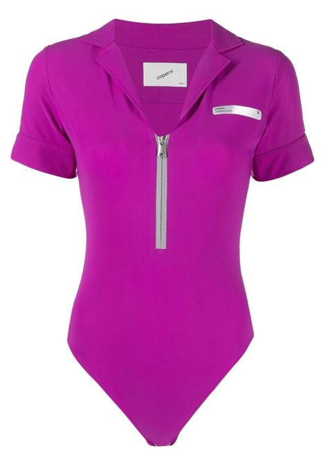 Coperni front-zip body women fuschia COPERNI | Body | COPS21BO02535FCSH