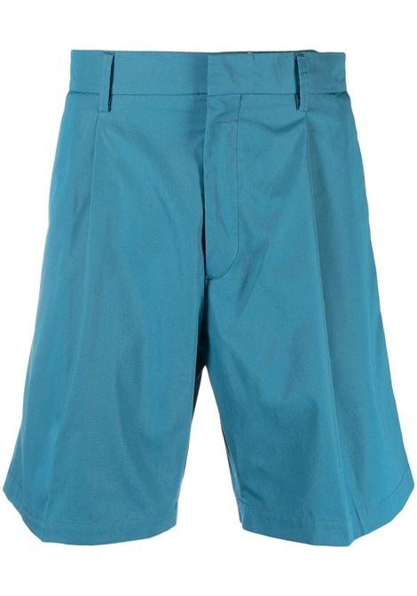 Bermuda sartoriali con pieghe in blu - uomo COSTUMEIN | CQ34Q15