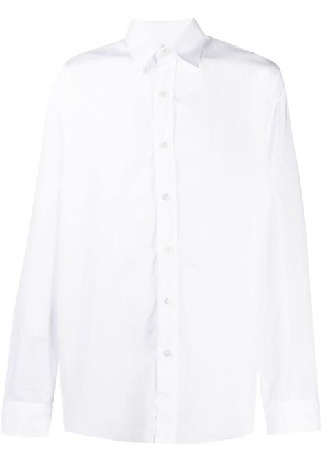 Costumein camicia a maniche lunghe uomo bianco COSTUMEIN | Camicie | P16CONT1