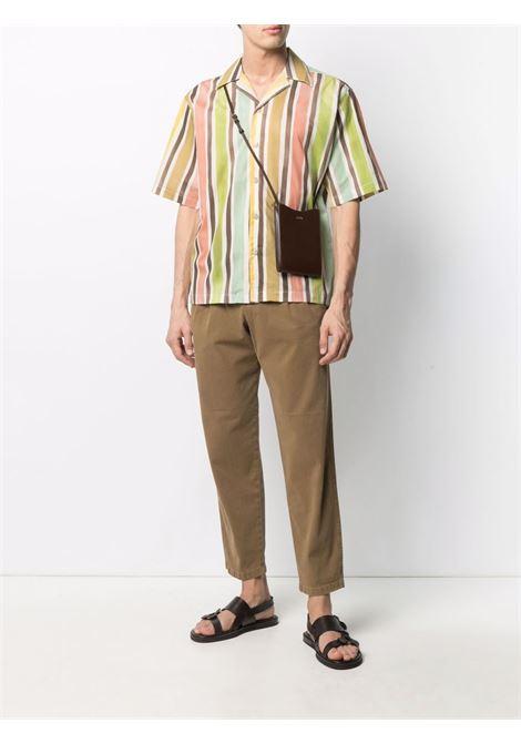 Camicia a righe con maniche corte multicolore - uomo COSTUMEIN | Q0210230