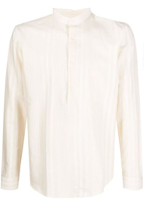 Costumein camicia a righe uomo ecru COSTUMEIN | Camicie | Q05I2