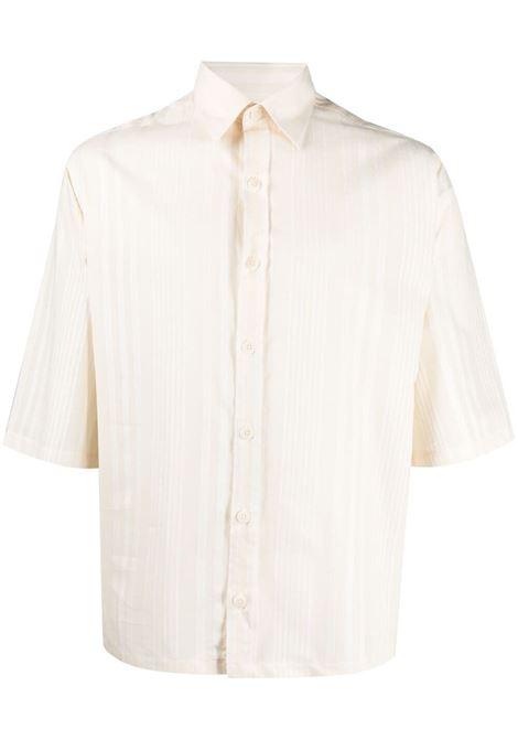 Costumein camicia a righe uomo ecru COSTUMEIN | Camicie | Q09IZI2