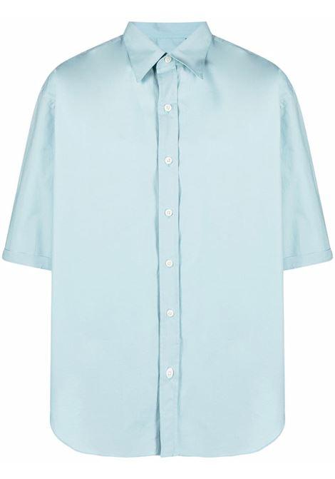 Camicia a maniche corte in blu oceano -uomo COSTUMEIN | Q117233
