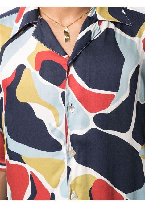 Camicia con design color-block Uomo COSTUMEIN | Q12TA
