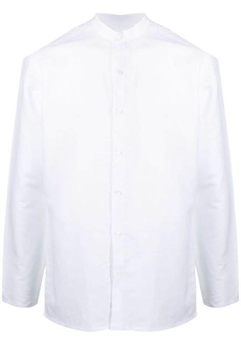 Costumein camicia con colletto a cinturino uomo bianco COSTUMEIN | Camicie | Q191