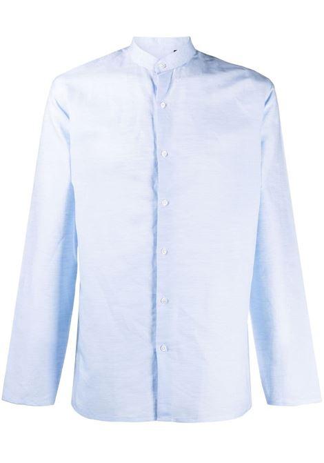 Costumein camicia con colletto a cinturino uomo bianco COSTUMEIN | Camicie | Q1910