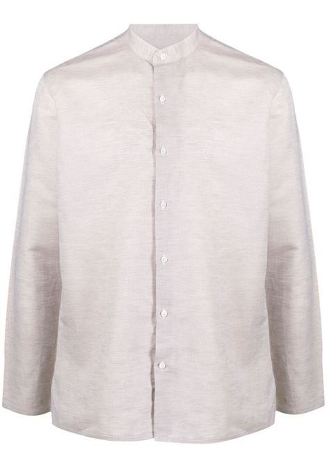 Costumein camicia con colletto a cinturino uomo bianco COSTUMEIN | Camicie | Q1916