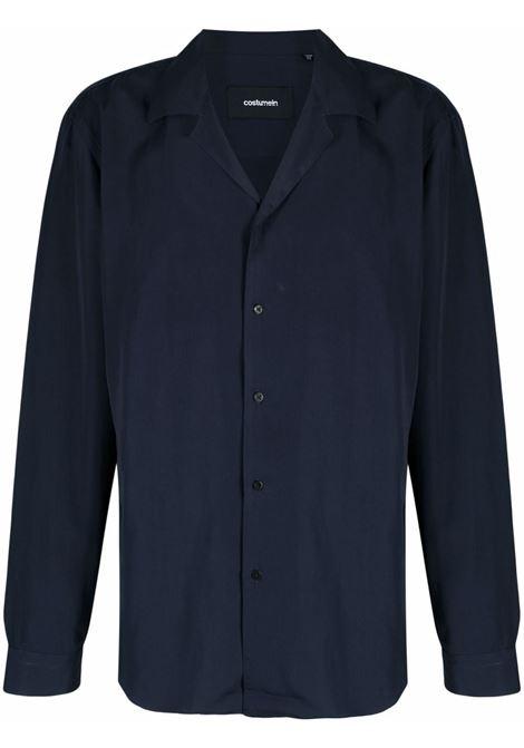 Camicia con colletto alla francese blu - uomo COSTUMEIN | R291846