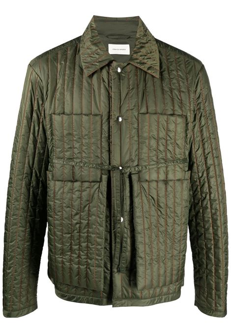 Craig green padded jacket men green orange CRAIG GREEN | Outerwear | CGSS21CWOJKT01GRNORNG