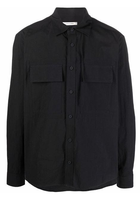 Craig green classic collar shirt men black CRAIG GREEN | Shirts | CGSS21CWOSHI04BLK