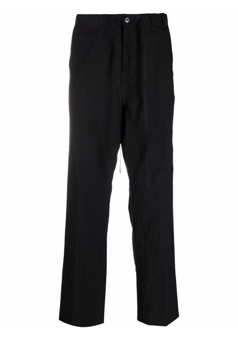 Craig green straight-leg trousers men black CRAIG GREEN | Trousers | CGSS21CWOTRS04BLK