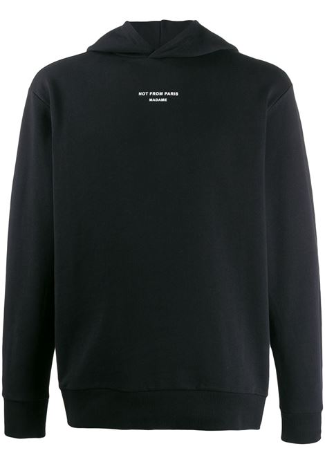 Slogan sweatshirt DRÔLE DE MONSIEUR | Sweatshirts | PERMP04BL