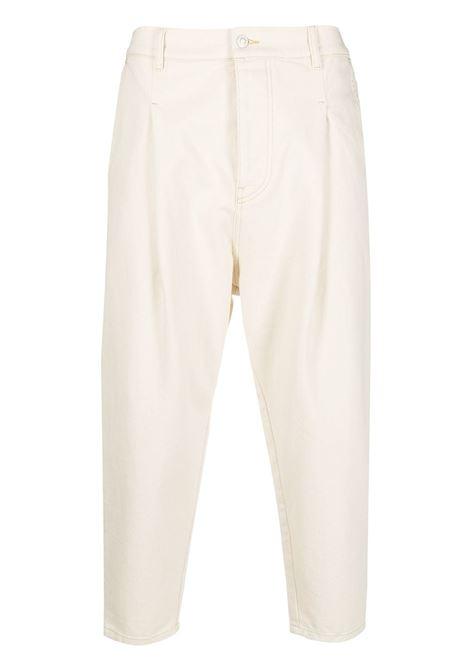 Drôle De Monsieur jeans crop uomo beige DRÔLE DE MONSIEUR | Jeans | SS21BP006BG