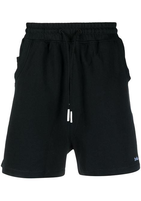 Drôle de monsieur logo bermuda men black DRÔLE DE MONSIEUR | Bermuda Shorts | SS21BS001BL