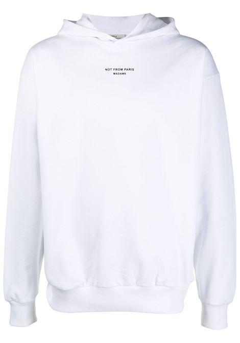 Drôle de monsieur logo sweatshirt men white DRÔLE DE MONSIEUR | Sweatshirts | SS21HO008WT