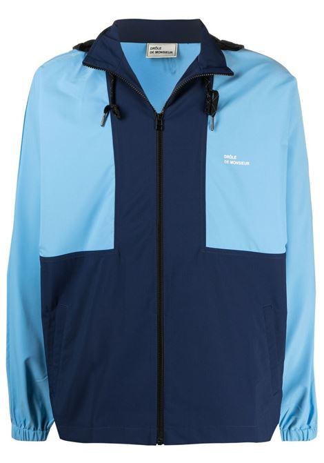 Drôle de monsieur giacca con design color-block uomo navy DRÔLE DE MONSIEUR | Capispalla | SS21JT012NY