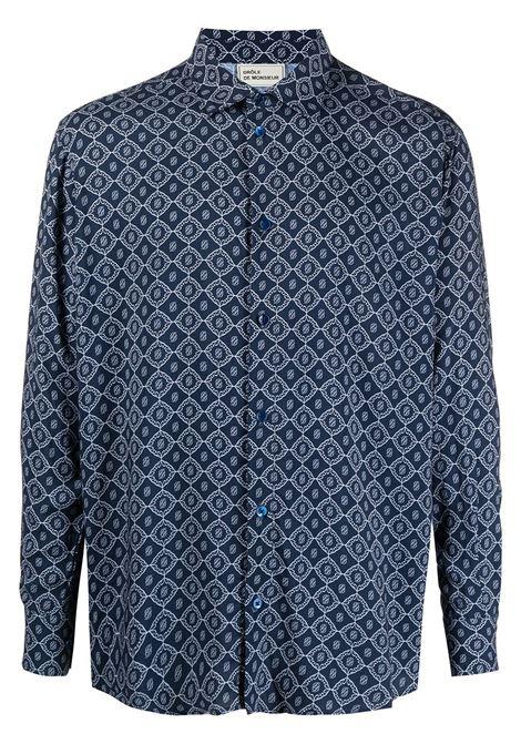 Geometric shirt DRÔLE DE MONSIEUR | Shirts | SS21SH010NY