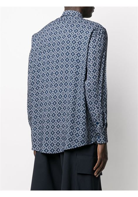 Geometric shirt DRÔLE DE MONSIEUR   SS21SH010NY