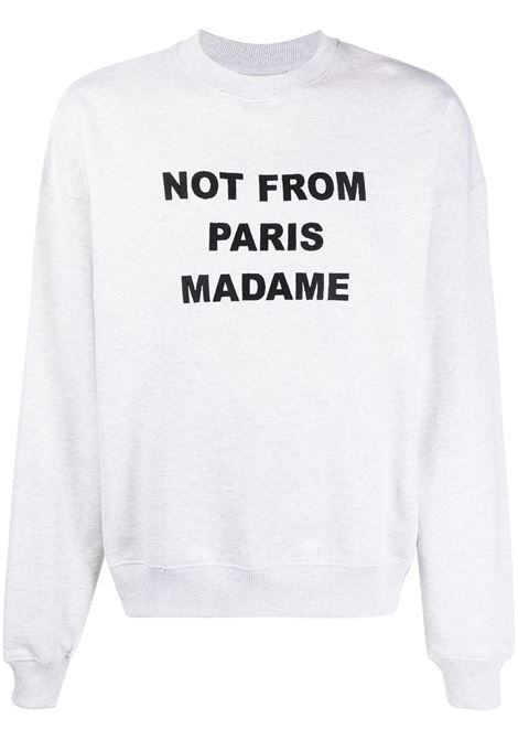 Not From Paris Madame sweatshirt DRÔLE DE MONSIEUR | Sweatshirts | SS21SW004GY