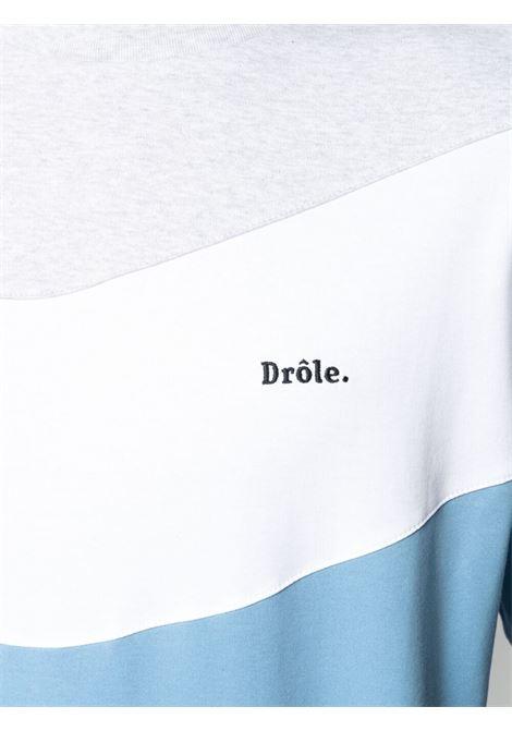 Drôle de monsieur logo t-shirt menblue sky DRÔLE DE MONSIEUR   SS21TS007BS