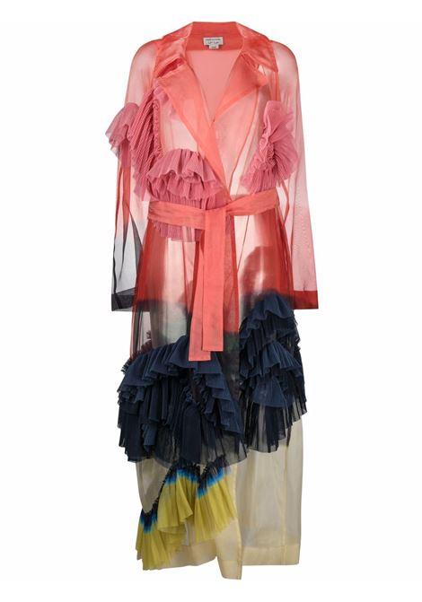 Sheer ruffled coat women  DRIES VAN NOTEN | Outerwear | 211102412086352