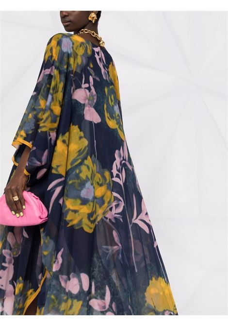 Multicolored kaftan dress - women DRIES VAN NOTEN   211107402011979