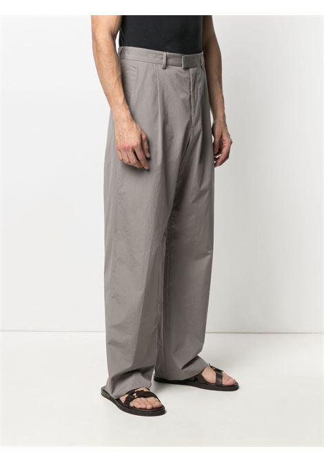 Dries van noten wide-leg trousers men grey DRIES VAN NOTEN | 211209242228802