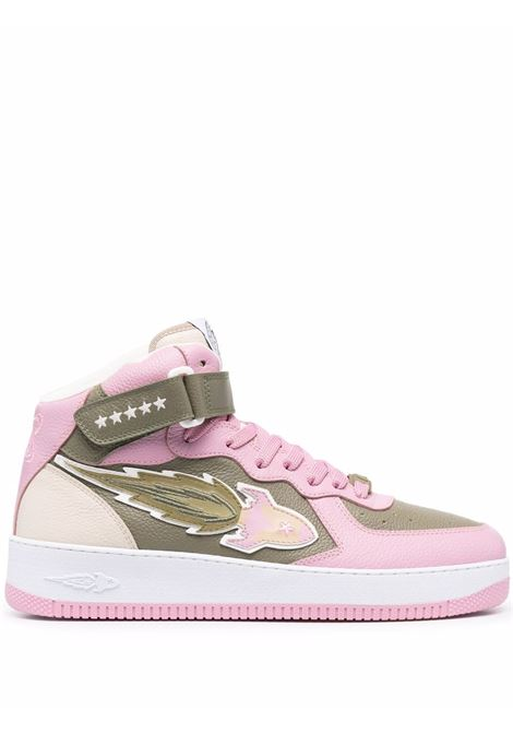 Enterprice japan sneakers alte uomo green pink beige ENTERPRICE JAPAN | Sneakers | BB1001PX108S1316