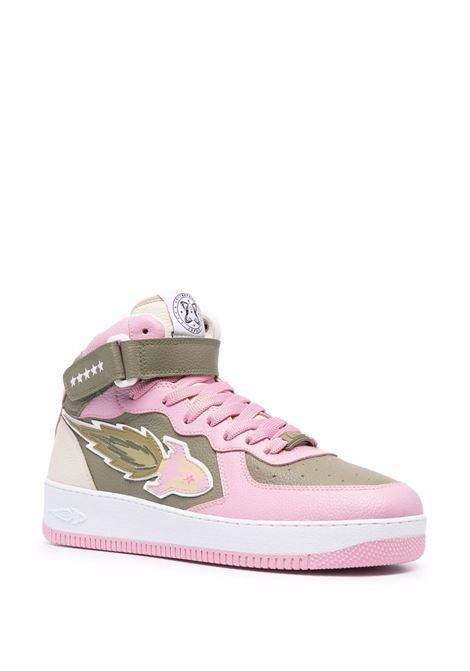 Enterprice japan high-top sneakers men green pink beige ENTERPRISE JAPAN | BB1001PX108S1316