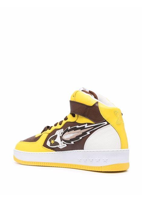Enterprice japan high-top sneakers men brown yellow white ENTERPRISE JAPAN | BB1001PX108S1845