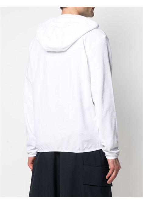 Ermenegildo zegna logo sweatshirt men white ERMENEGILDO ZEGNA | N7MK01370100