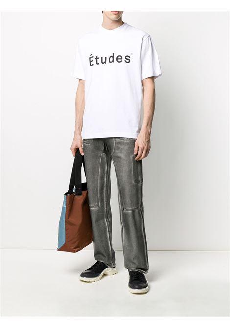 Logo print t-shirt ÉTUDES | E16B42602