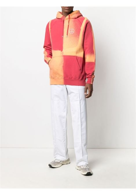 Red and orange print sweatshirt - men ÉTUDES | E18M106BL