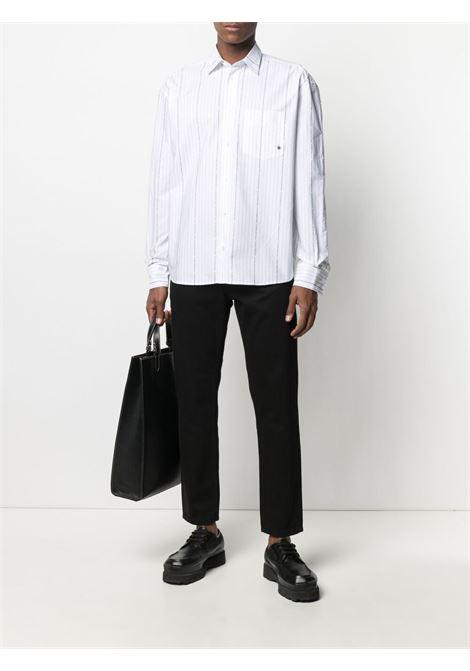 Études graphic-print shirt men white stripes ÉTUDES | E18M31932