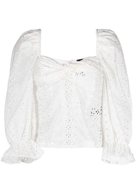 Blusa con scollo a cuore Donna FEDERICA TOSI | Bluse | FTE21BL0060PZ00120001
