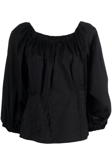 Blusa con maniche a palloncino Donna FEDERICA TOSI | Bluse | FTE21BL0670PP00380002