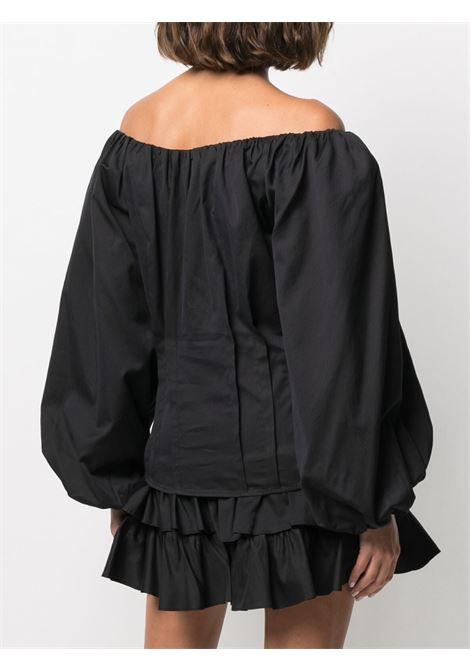 Blusa con maniche a palloncino Donna FEDERICA TOSI | FTE21BL0670PP00380002
