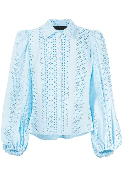 Camicia con ricamo Donna FEDERICA TOSI | Camicie | FTE21CA0020PZ00120359