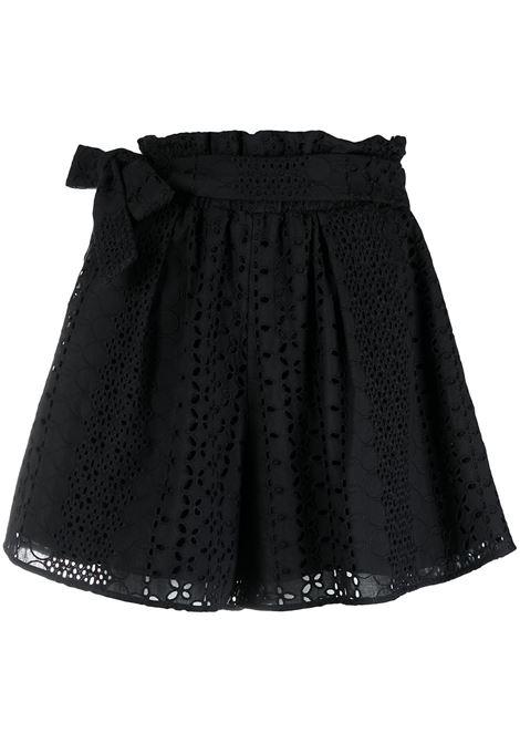 Shorts con pizzo sangallo Donna FEDERICA TOSI | Shorts | FTE21SH0600PZ00120002