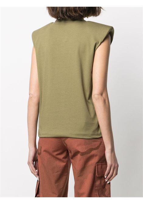 T-shirt con spalline imbottite Donna FEDERICA TOSI | FTE21TS0030JE00810007