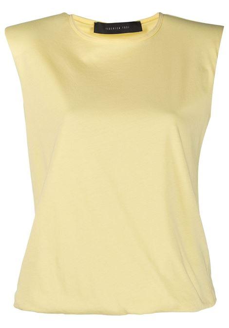 Top smanicato FEDERICA TOSI | T-shirt | FTE21TS0030JE00810037