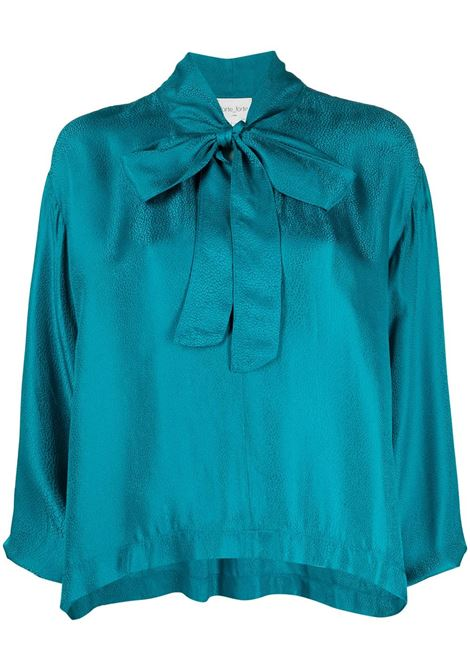 Bow-fastening blouse FORTE FORTE | Blouses | 8056TPZ