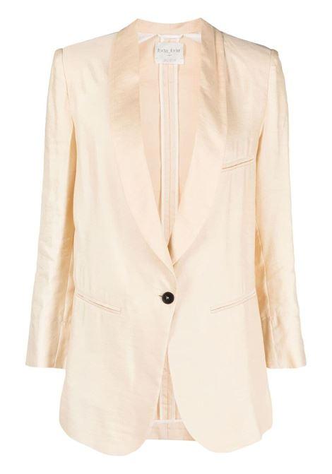 Forte forte single-breasted jacket women sabbia FORTE FORTE | Blazers | 8208SBB