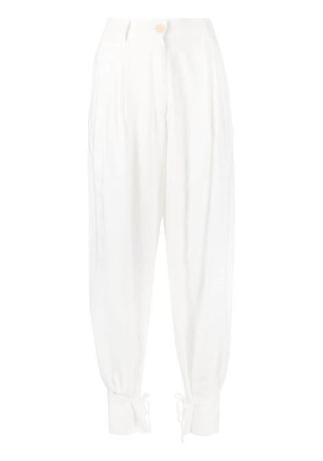 Forte Forte pantaloni affusolati donna bianco FORTE FORTE | Pantaloni | 8218BNC