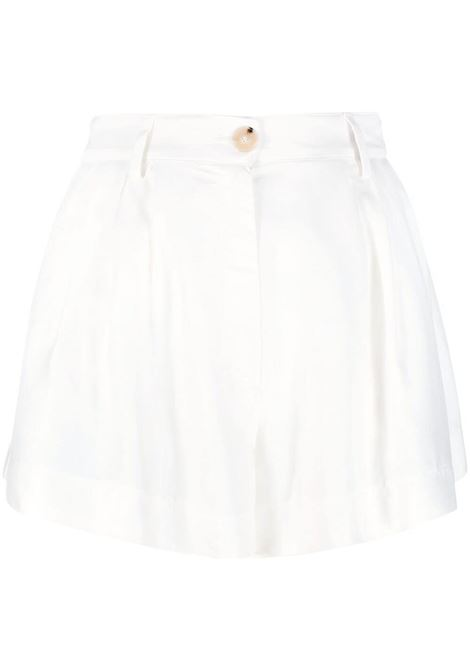 Forte forte front-button shorts women bianco FORTE FORTE | Shorts | 8219BNC