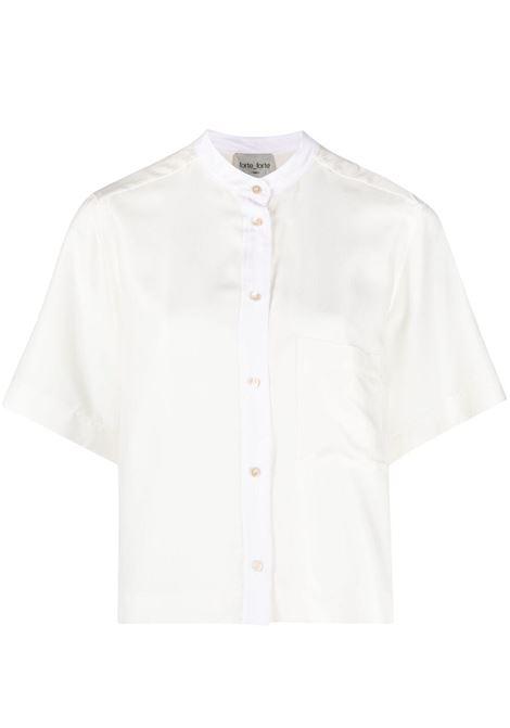 Forte forte shortsleeved shirt women bianco FORTE FORTE | Shirts | 8220BNC