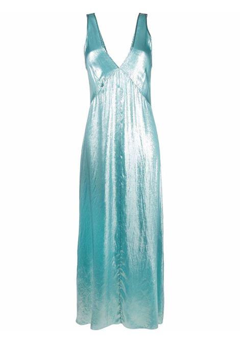 High-shine gown women aqua marina FORTE FORTE | Dresses | 8228AQUMRN