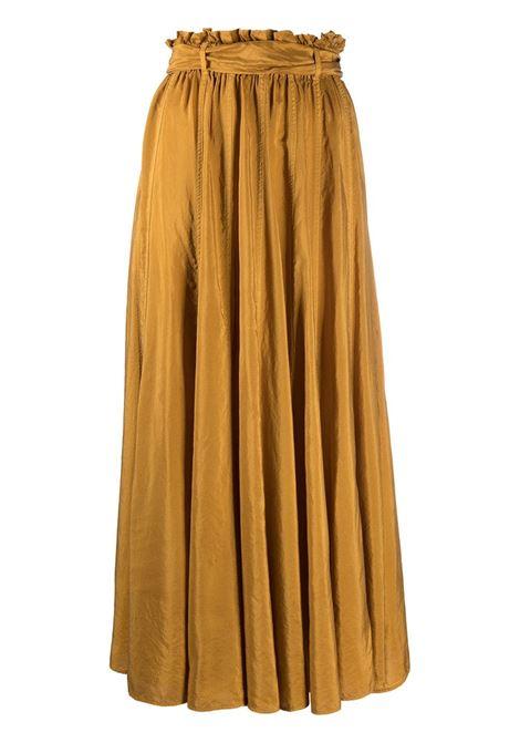 Gathered full-length skirt FORTE FORTE | Skirts | 8231LQURZ